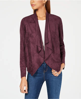KUT from the Kloth Draped Open-Front Blazer