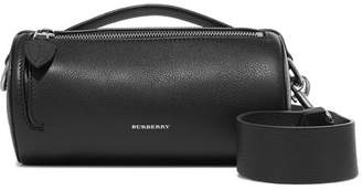 Burberry Textured-leather Shoulder Bag - Black