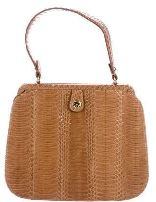 Kotur Snakeskin Handle Bag
