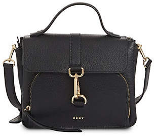 DKNY Paris Leather Crossbody Bag