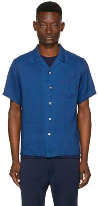 Blue Blue Japan Indigo Mount Fuji Shirt