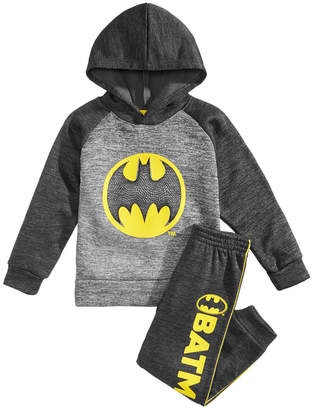 Dc Comics Little Boys 2-Pc. Batman Hoodie & Pant Set