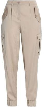Moschino Satin Tapered Pants