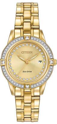 Citizen 29mm Bracelet Watch w/ Crystal Bezel