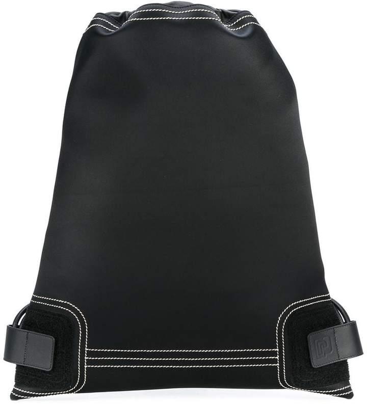 Paco Rabanne drawstring backpack