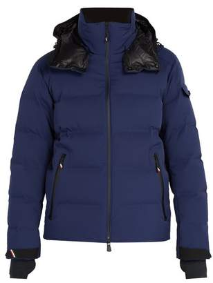 Moncler Montgetech Quilted Down Jacket - Mens - Navy