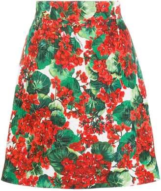 0065960121 Floral Print Mini Skirt - ShopStyle Australia