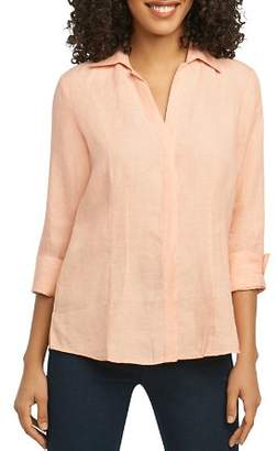 Foxcroft Three-Quarter-Sleeve Shirt