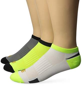 PowerSox Men's Lightweight No Show Socks with Mositure Control
