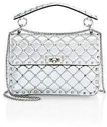 Valentino Garavani Women's Medium Rockstud Spike Leather Shoulder Bag