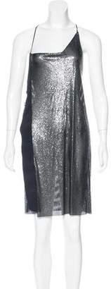 Paco Rabanne Chain-Mail Asymmetrical Dress w/ Tags