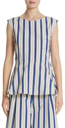 Sofie D'hoore Sleeveless Peplum Top
