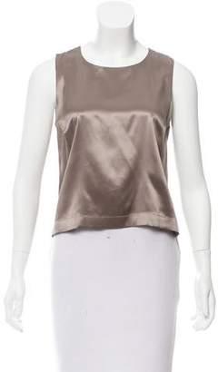 Chanel Sleeveless Silk Top