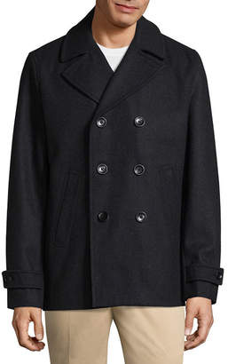 Claiborne Wool Blend Peacoat
