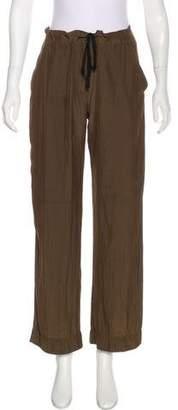 Raquel Allegra High-Rise Wide-Leg Pants