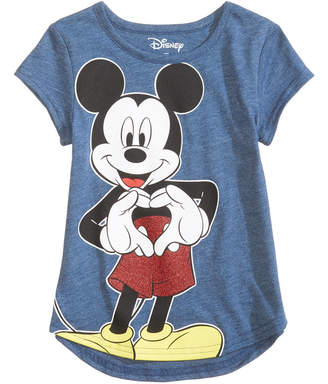 Disney Disney's Mickey Sweetheart Cotton T-Shirt, Little Girls