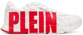 Philipp Plein logo print runner sneakers