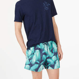Club Monaco Arlen Palm Fronds Swim Trunk