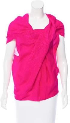 Lanvin Silk Floral Top w/ Tags