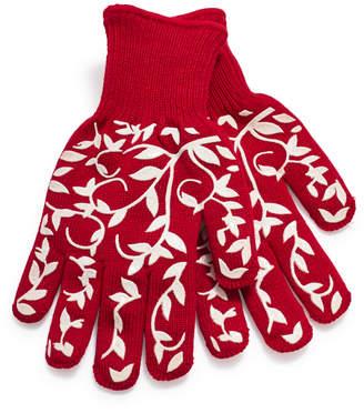 Sur La Table Floral Vine Small Oven Gloves