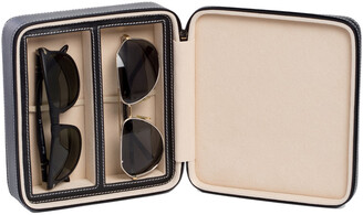 Bey-Berk Bey Berk Two Sunglass Travel Case