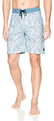 "Hurley Men's Apparel Men's Floral 20"" Recycled Supersuede Pupukea Boardshort"