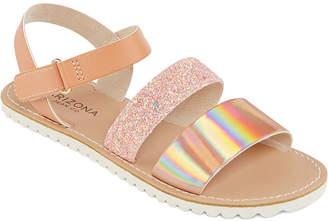2dab3a4c0e14 Arizona Little Kid Big Kid Girls Maddie Flat Sandals