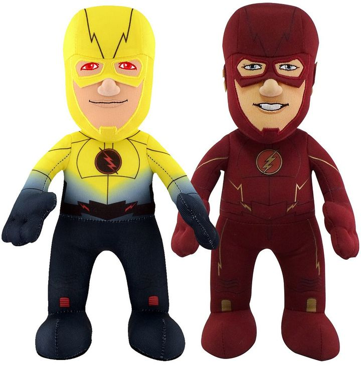 Bleacher creatures DCTV Dynamic Duo Flash & Reverse Flash 10-in. Plush Figures by Bleacher Creatures