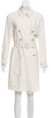 Alexander McQueen Double-Breasted Trench Coat