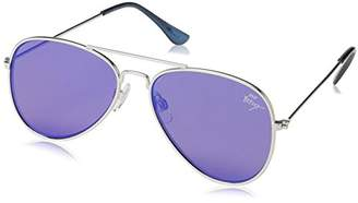 Betsey Johnson Women's Lizzie Aviator Sunglasses