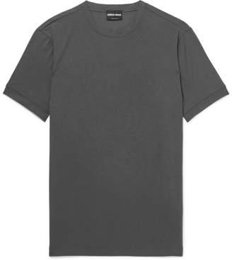 Giorgio Armani Slim-Fit Stretch-Jersey T-Shirt
