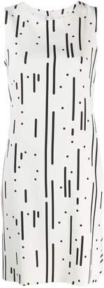 Akris Punto patterned shift dress