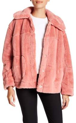 Urban Republic Faux Fur Jacket