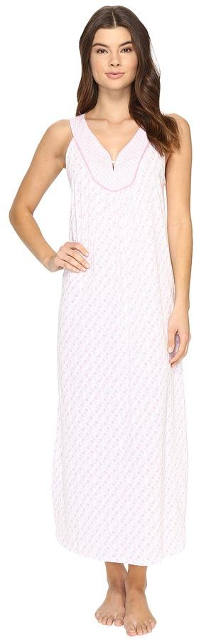 Carole HochmanCarole Hochman - Printed Long Gown Women's Pajama