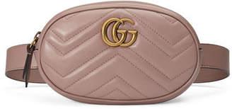 Gucci GG Marmont Small Matelassé Leather Belt Bag