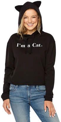 Fifth Sun I'm a Cat Hoodie - Juniors
