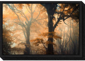 Amanti Art Reverse and Forward by Ildiko Neer Canvas Framed Art