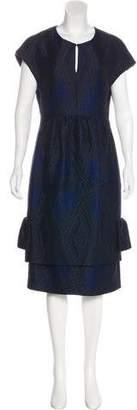 Dries Van Noten Wool Midi Dress