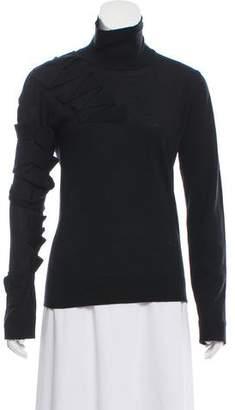 Gianfranco Ferre Virgin Wool Turtleneck Sweater