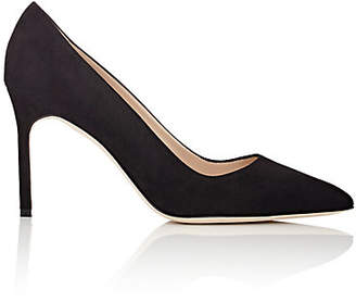 Manolo Blahnik Women's BB Pumps - Black Suede
