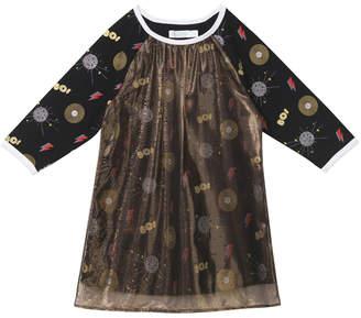 Oaks of Acorn Disco Print Club Dress