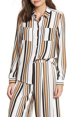 LIRA Clinton Stripe Shirt