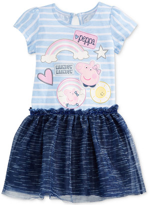 Nickelodeon's Peppa Pig Graphic-Print Dress, Toddler & Little Girls (2T-6X) $38 thestylecure.com