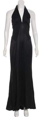 Ralph Lauren Purple Label Silk Maxi Dress