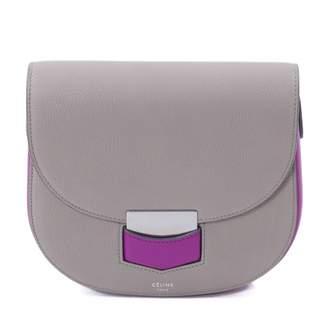Celine Trotteur leather crossbody bag