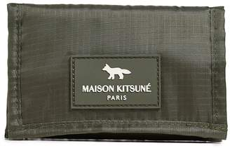 MAISON KITSUNÉ Velcro Ripstop Wallet