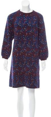 Chloé Floral Sweater Dress