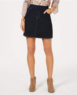 Style&Co. Style & Co Frayed Denim Skort, Created for Macy's