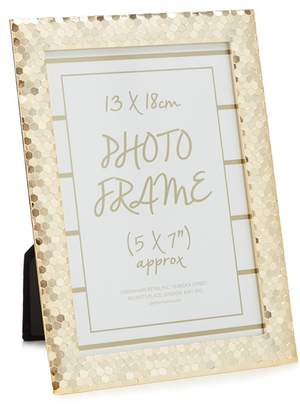 Debenhams Gold Sequin Photo Frame