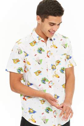 Forever 21 Nickelodeon Characters Shirt